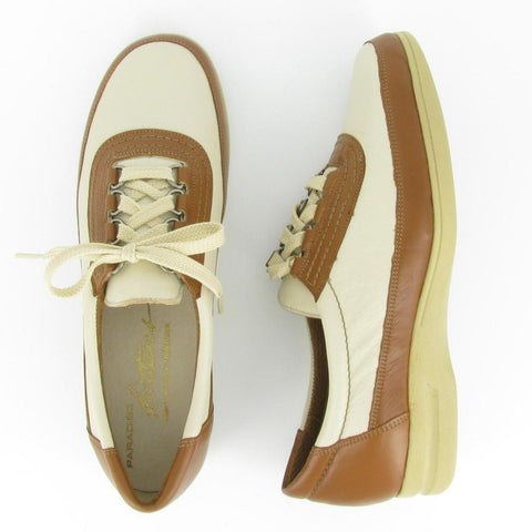 LO-TIDE - Bone/ Camel Leather