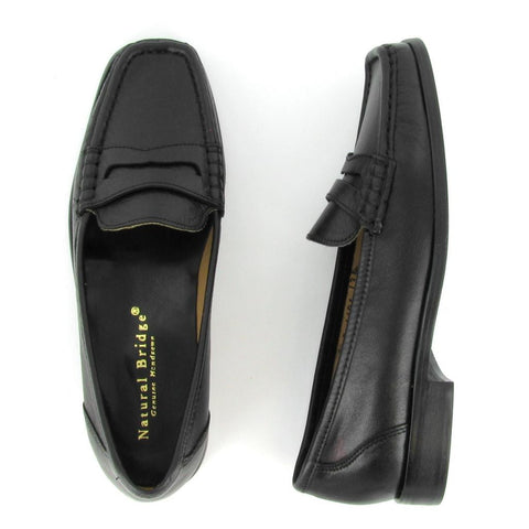 Moc - PENNY - Black Leather