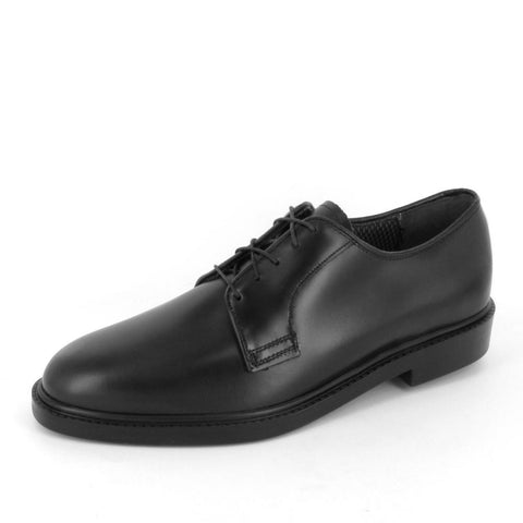 SENATOR - 1011-881-Oversized - Black Leather Oxford