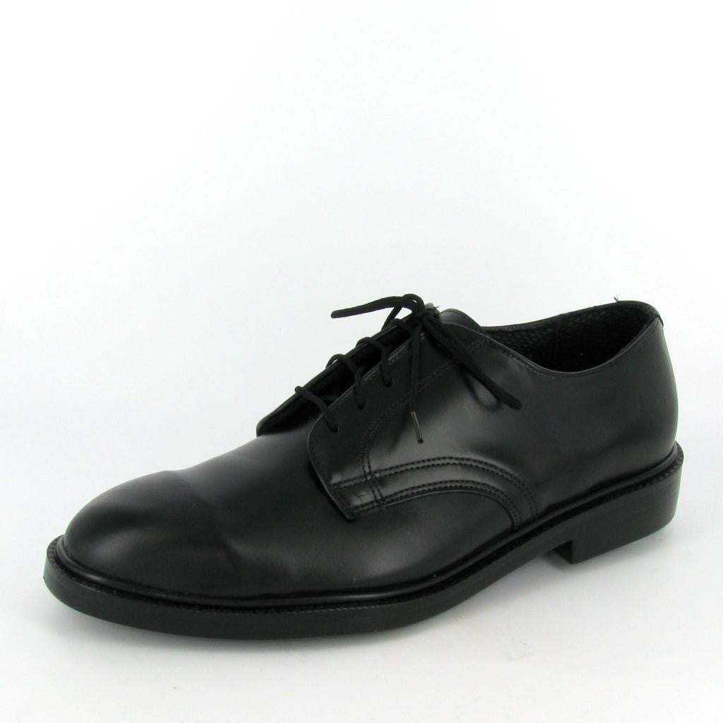 SENATOR - STEEL TOE, Black Leather