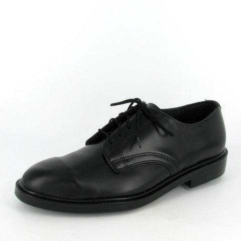 SENATOR- STEEL TOE - Black Leather