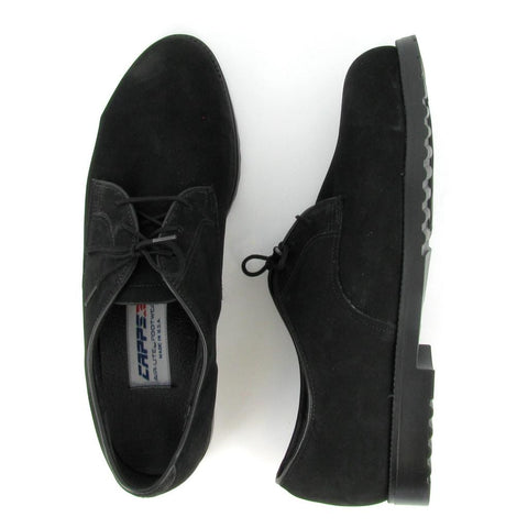 ST - PATCH - Women's Black NuBuck Steel Toe