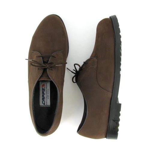 ST - PATCH - Women's Brown NuBuck Steel Toe