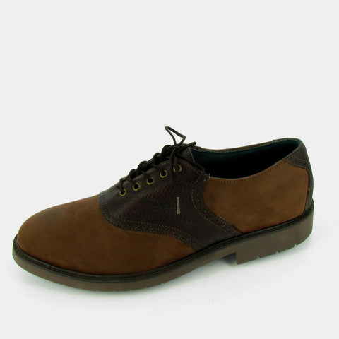 VINTON - STEEL TOE - Brown Buck/ Brown Saddle