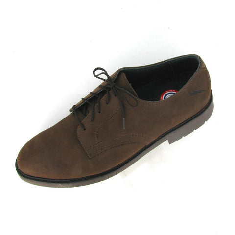 SALEM - STEEL TOE -  Brown NuBuck