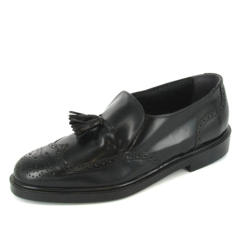 VIENNA - STEEL TOE - Black Leather
