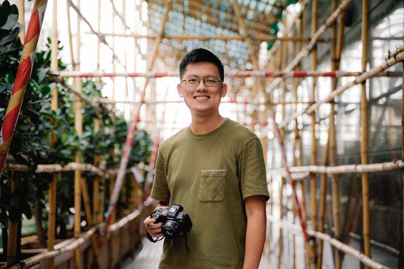 Bamboo Scenes Photography Artist Jeremy Cheung Central Hong Kong
