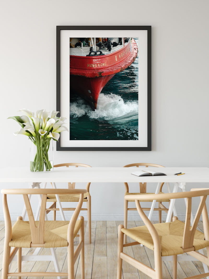 Hong Kong Fine Art Photography Print by Artist Jeremy Cheung at Dining Room