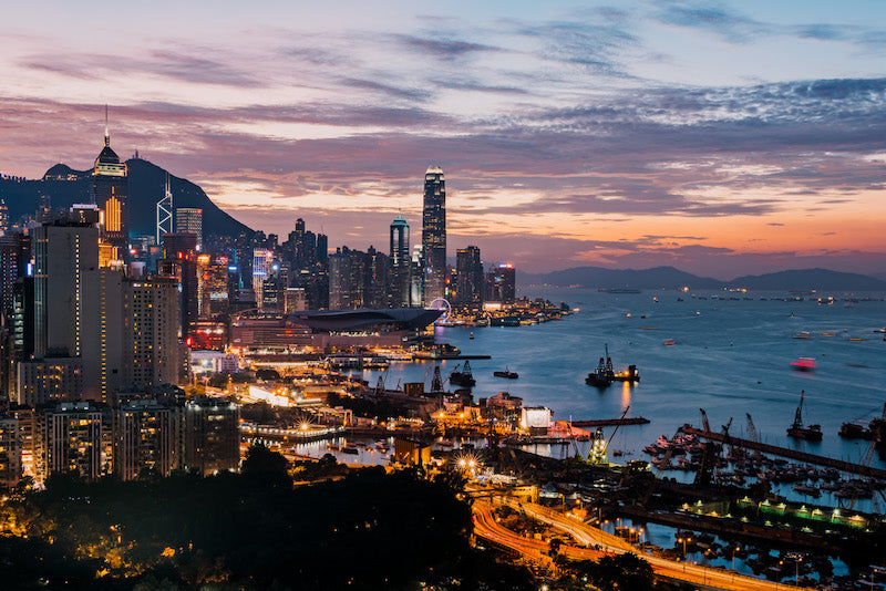 Bamboo Scenes Hong Kong Artist Vivien Liu Photograph What If The sky Is For Show & The Aliens Are Watching, Causeway Bay