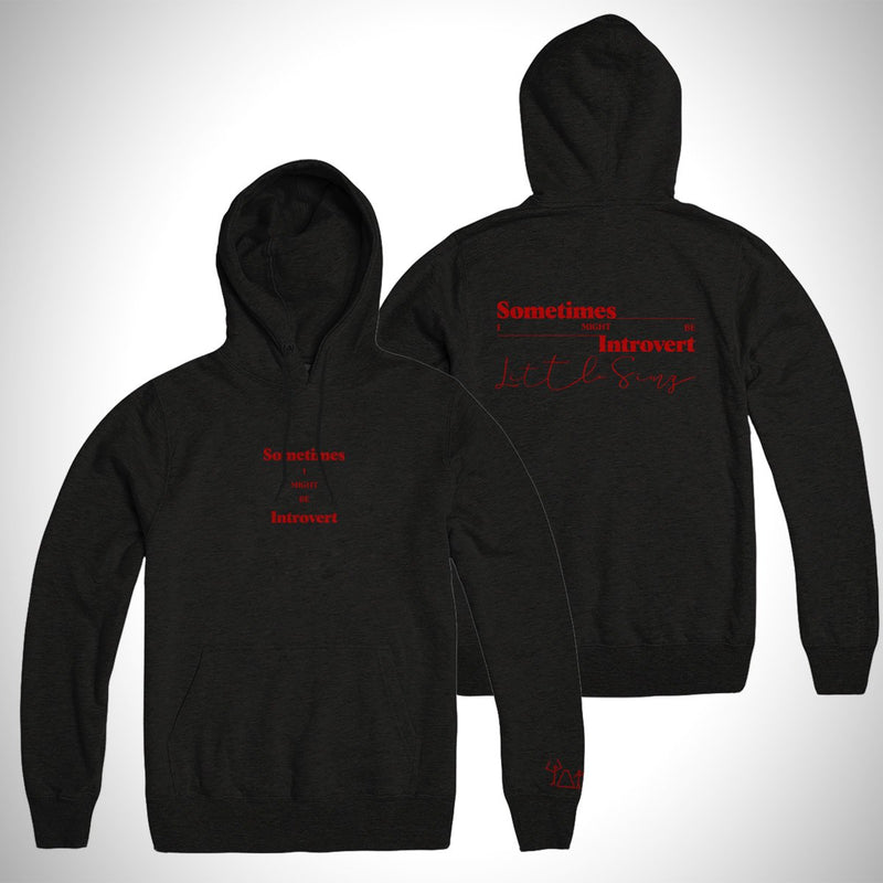Sometimes I Might Be Introvert Album [BLACK] Hoodie