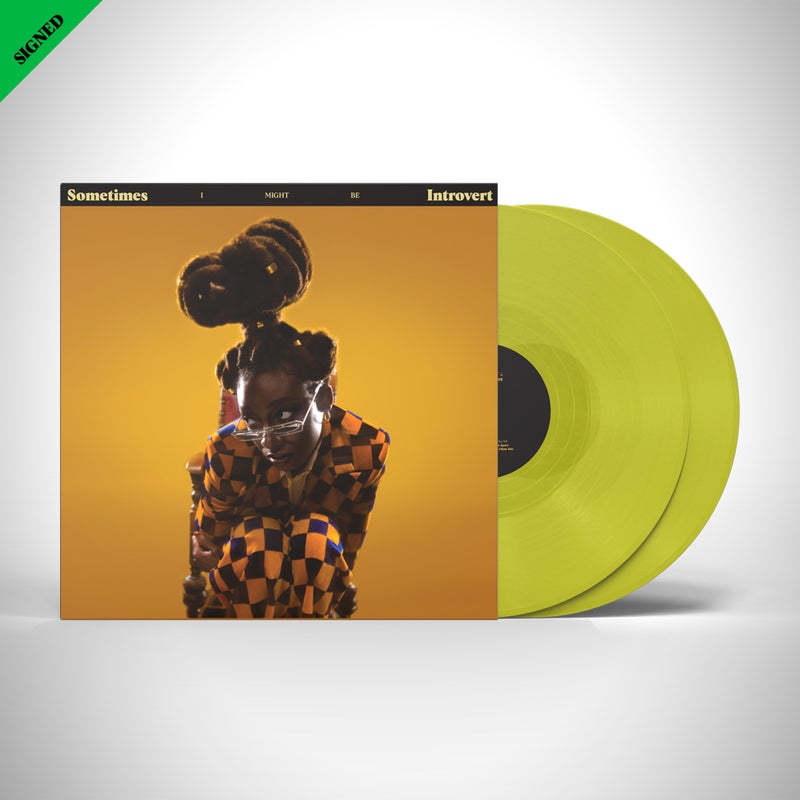 Sometimes I Might Be Introvert [YELLOW] Vinyl LP SIGNED