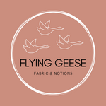 Flying Geese Fabric Logo