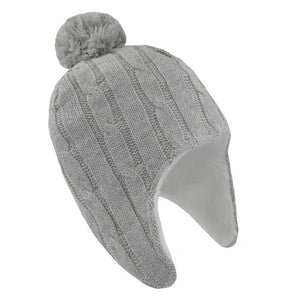Living%20Textiles%20Cable%20Knit%20Sherpa%20Beanie%200-6m%20Grey%20or%20White