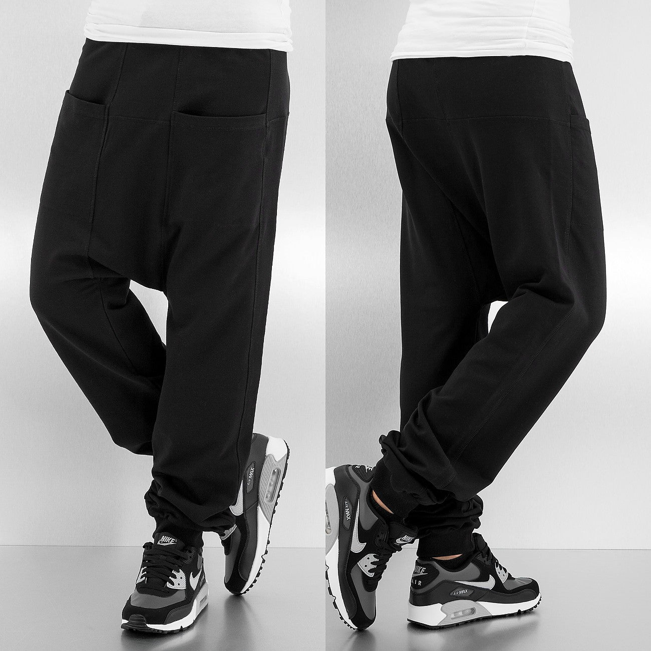 Just Rhyse Ladies Melissa Woman Sweat Pants  Black