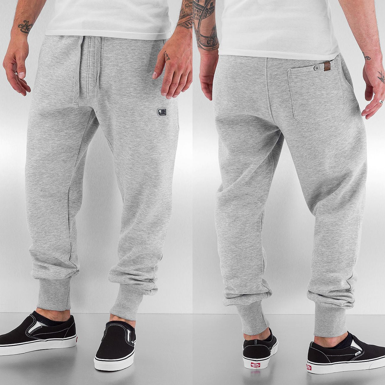 Just Rhyse Beat Men Sweat Pants  Grey