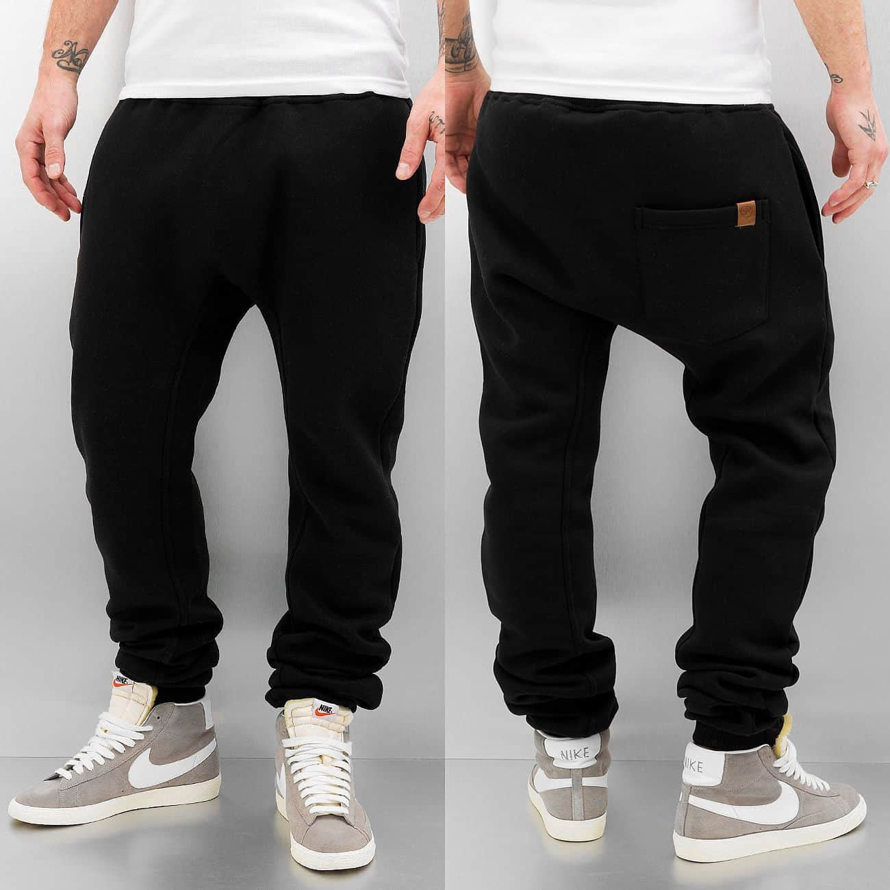 Just Rhyse Rasco Sweat Pant  Black