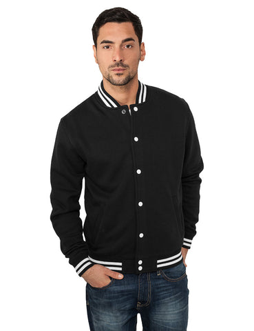 College Sweatjacket TB119 Black