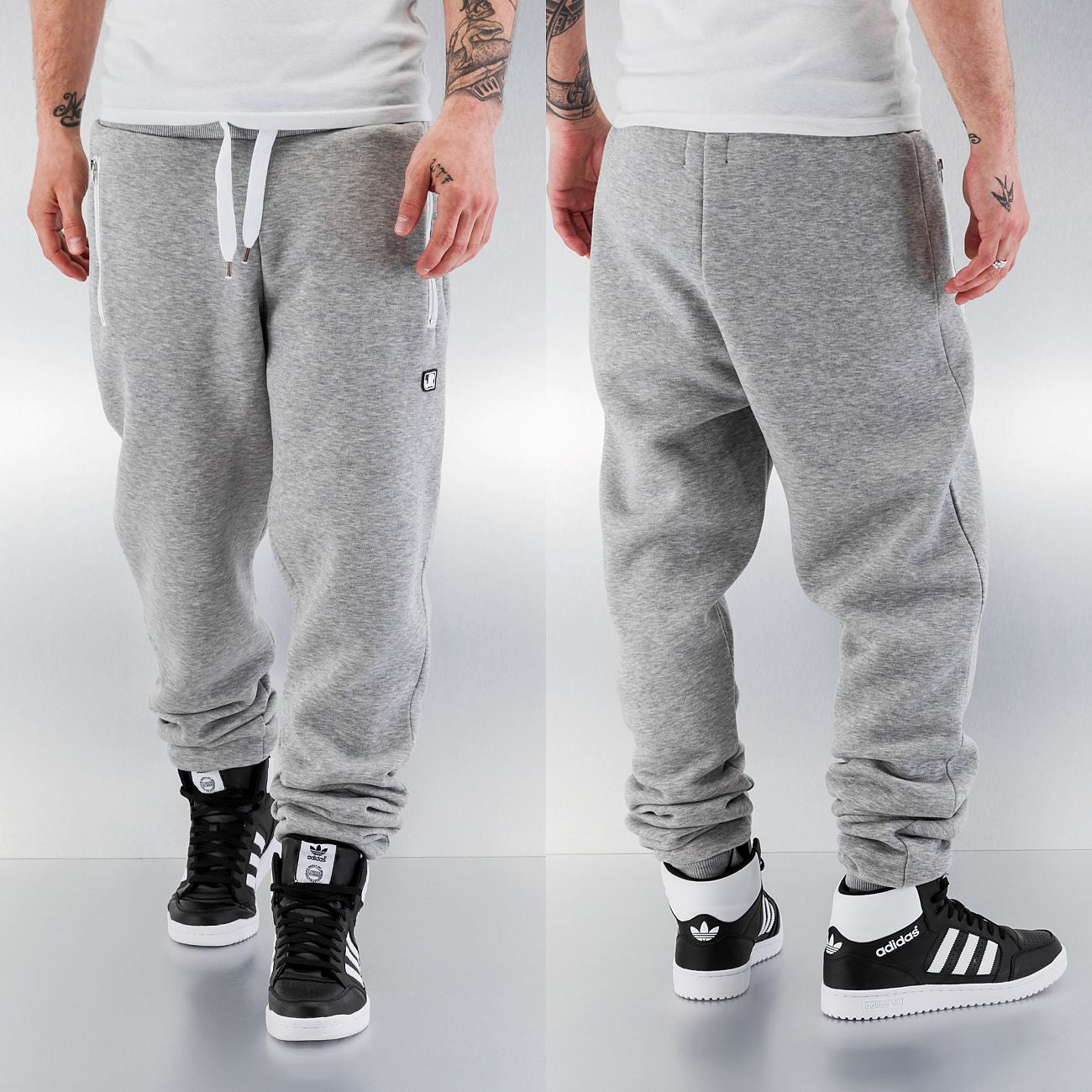 Just Rhyse Momo Sweat Pants  Grey