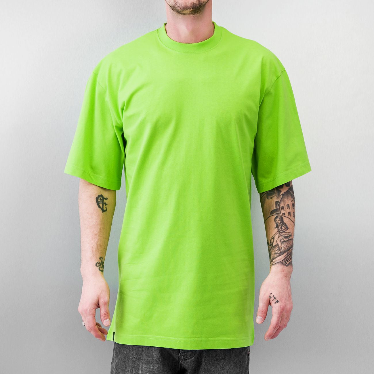 Just Rhyse And Friends Basic Tall Tee  Green