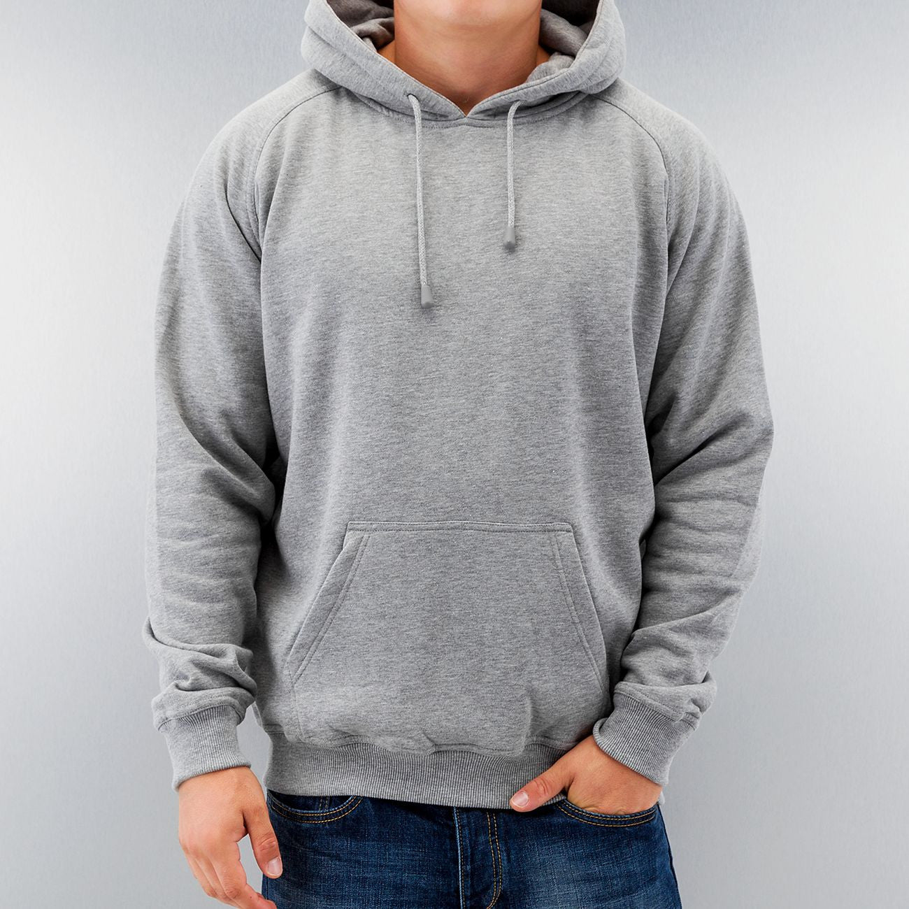 Dangerous DNGRS And Friends Blank Hoody Grey Grey