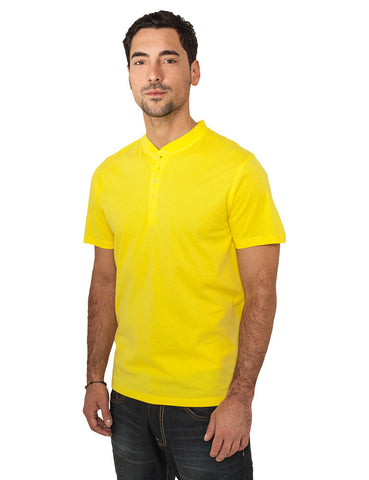 Basic Henley Tee TB268 Yellow