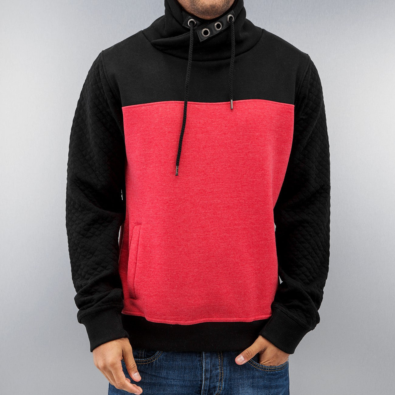 Dangerous DNGRS Big Block Hoody Black/Red Black