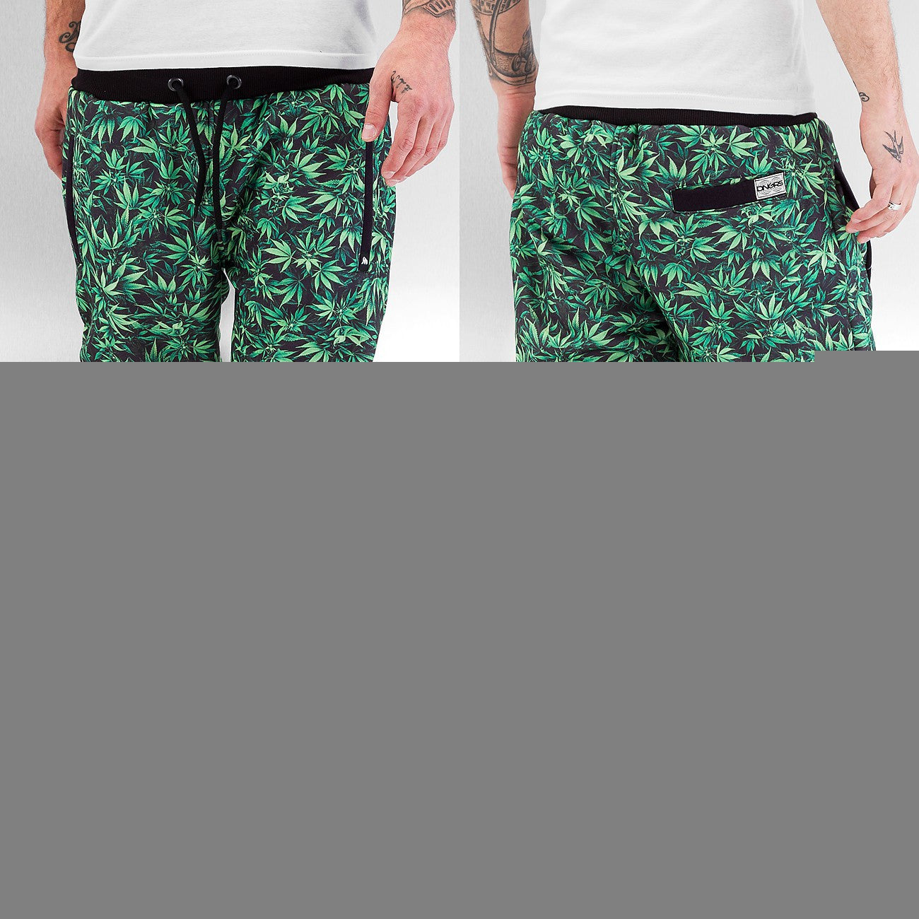 Dangerous DNGRS THC Sweat Pants  Green