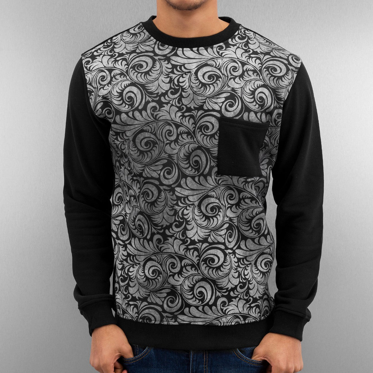 Just Rhyse Virtuous Pullover  Black