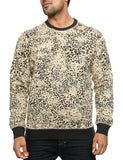 ImperiousLeopard Print Crewneck Beige