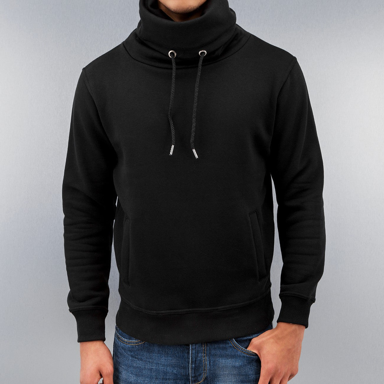 Just Rhyse Tight Sweatshirt  Black
