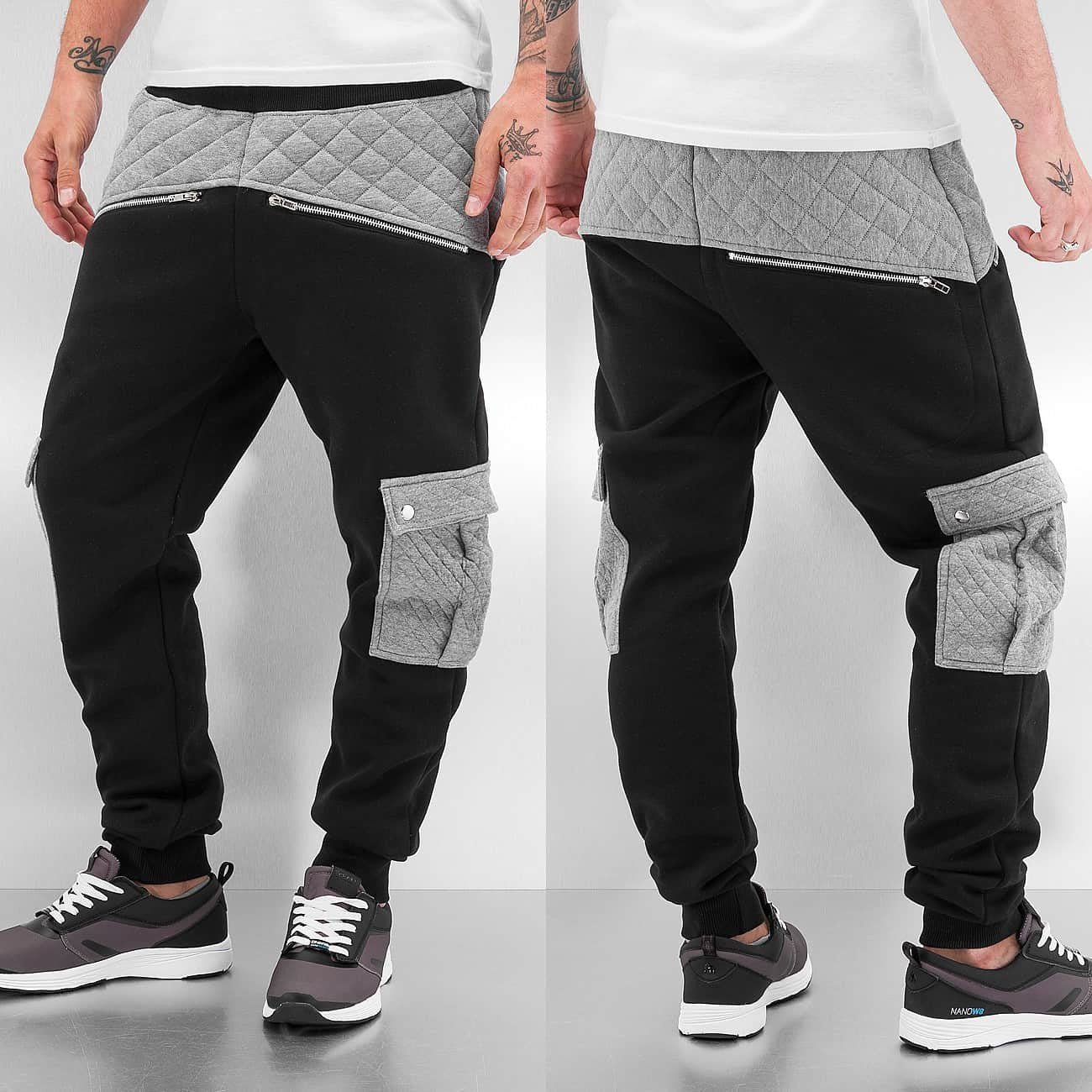 Just Rhyse Beat III Sweat Pants  Black
