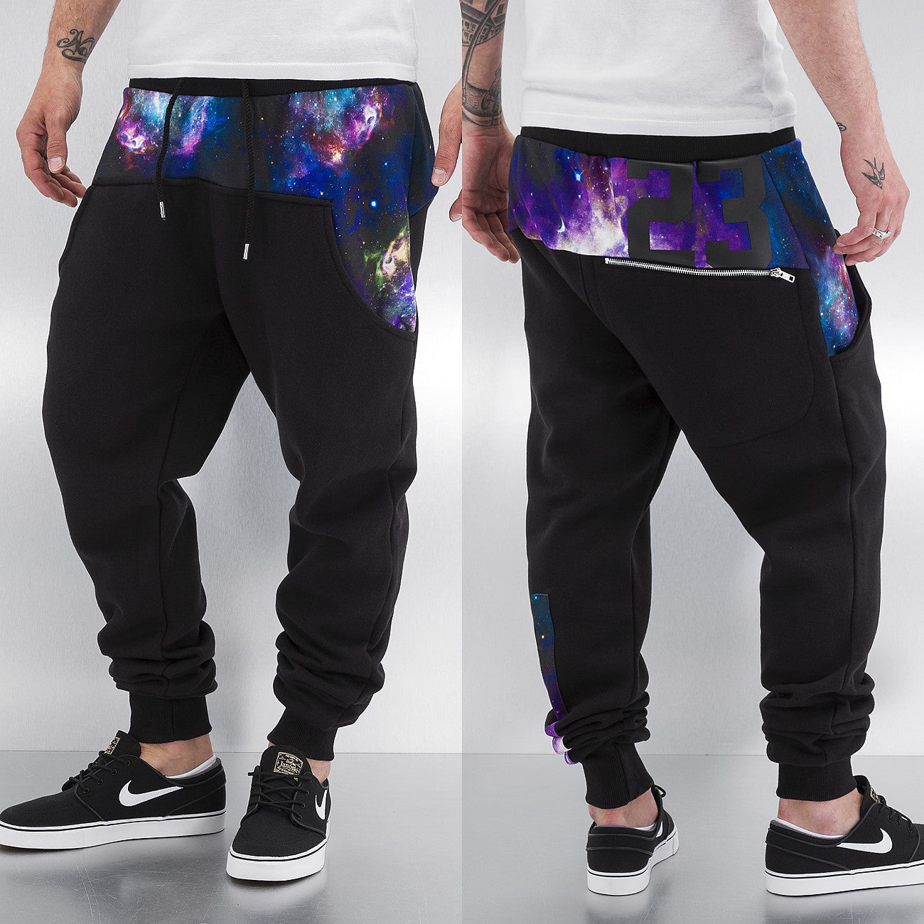 Just Rhyse 23 Sweat Pants  Black