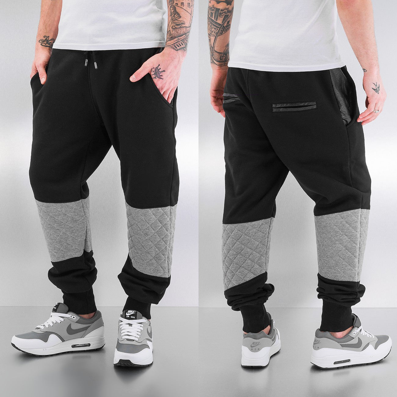 Just Rhyse Stepp Sweat Pants  Black