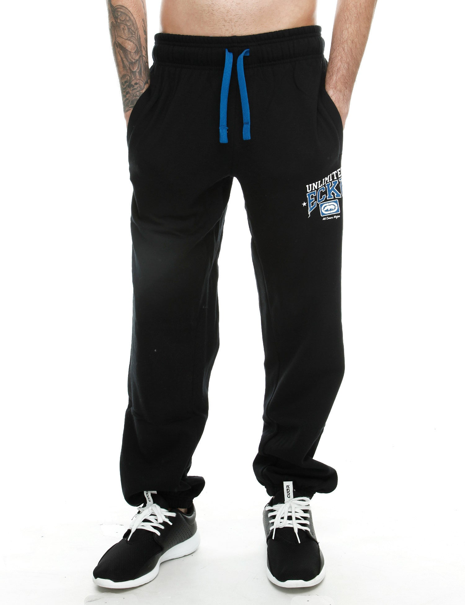 Image of Transporter Sweatpants Anthracite Grey