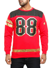 Imperious 88 Crewneck Sweatshirt Red