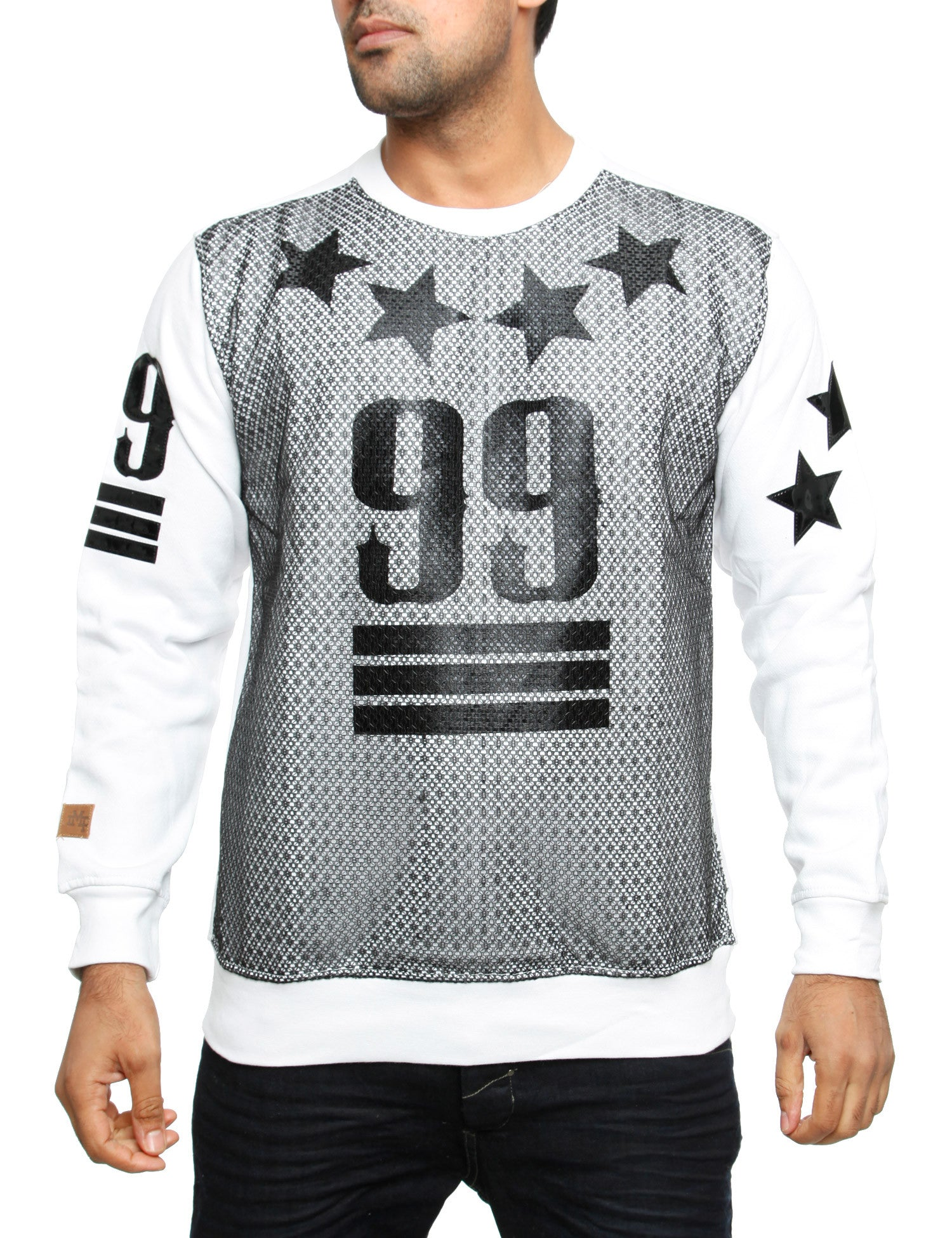 "Imperious CS60 ""99"" Crewneck Sweatshirt White"