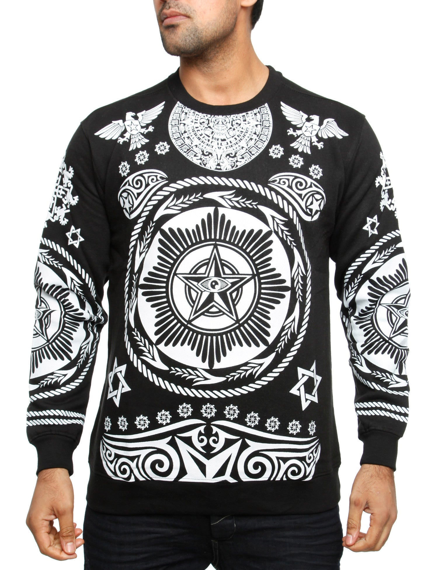 Imperious CS64 Hiero Crewneck Sweatshirt Black