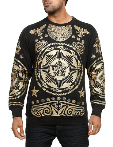 Imperious CS64 Hiero Crewneck Sweatshirt Gold