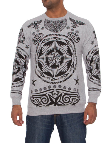 Imperious CS64 Hiero Crewneck Sweatshirt Grey