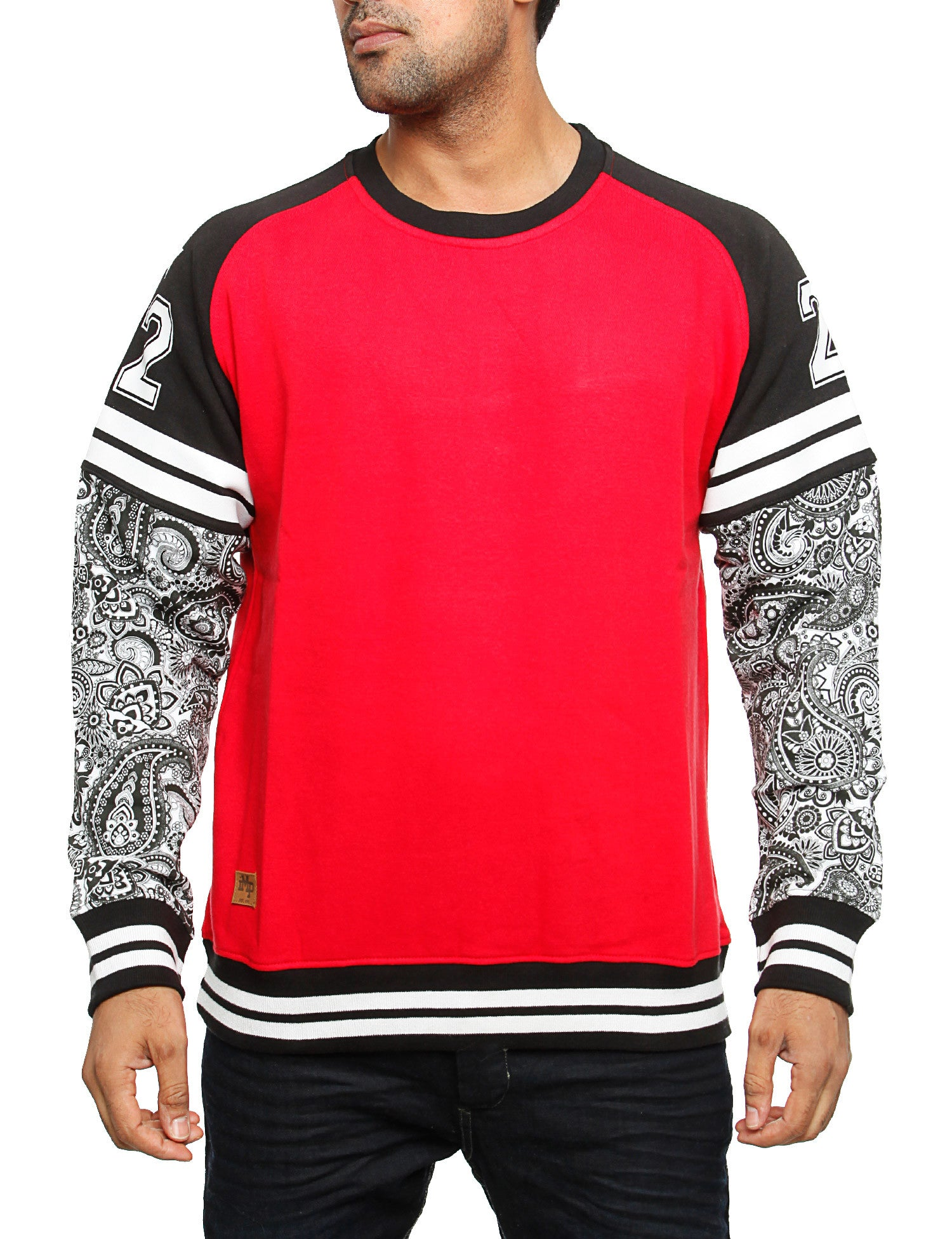 Imperious CS80 2 Fer Sleeve Sweatshirt Red