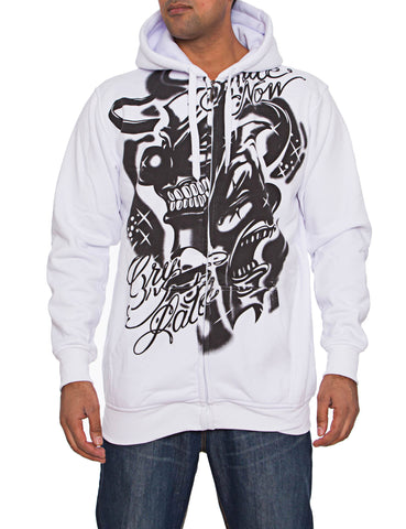 Townz RWD-127A Hoody White