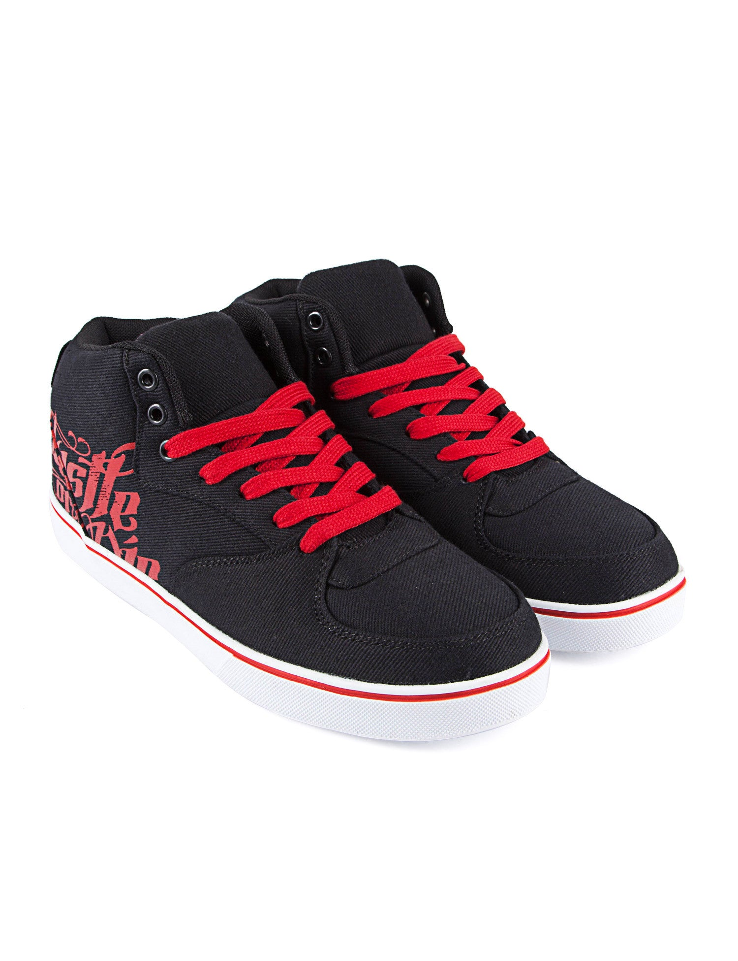 Townz Hustle or Die Shoes Black