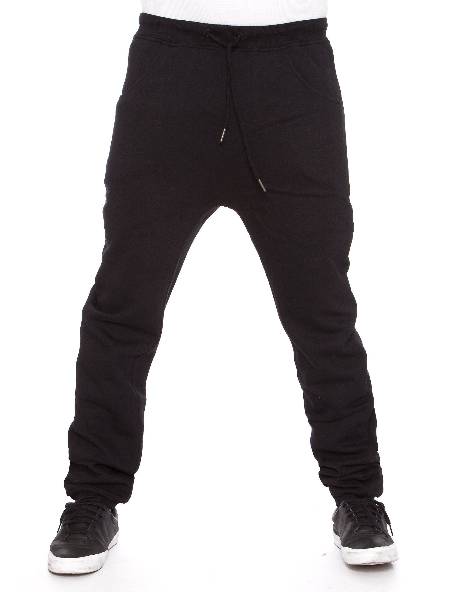 Raw Blue Fleece Jogger Pants RBB-SP-006 Black