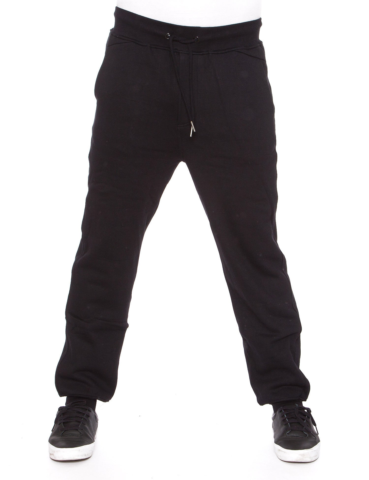 Raw Blue Fleece Jogger Pants RBB-SP-007 Black