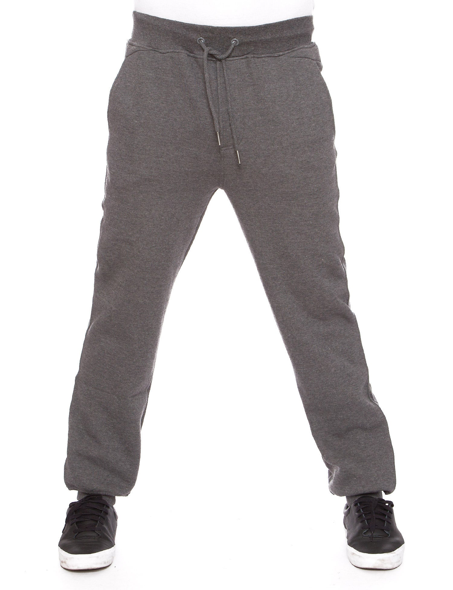 Raw Blue Fleece Jogger Pants RBB-SP-007 Grey