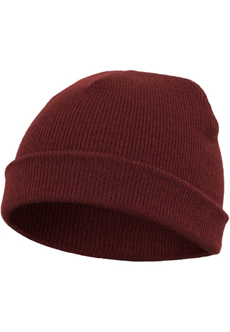 Flexfit Heavyweight Beanie Maroon 1500KC Brown