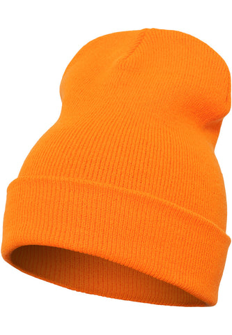 Flexfit Heavyweight Long Beanie 1501KC Orange