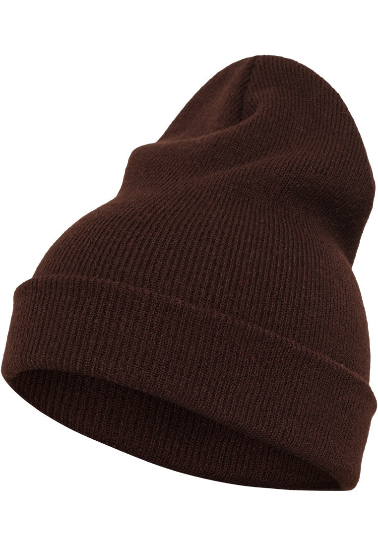 Flexfit Heavyweight Long Beanie 1501KC Brown
