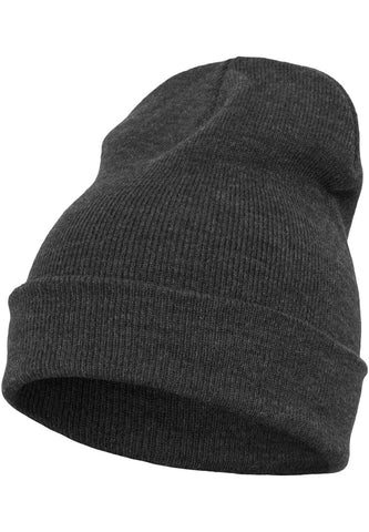 Flexfit Heavyweight Long Beanie 1501KC Grey