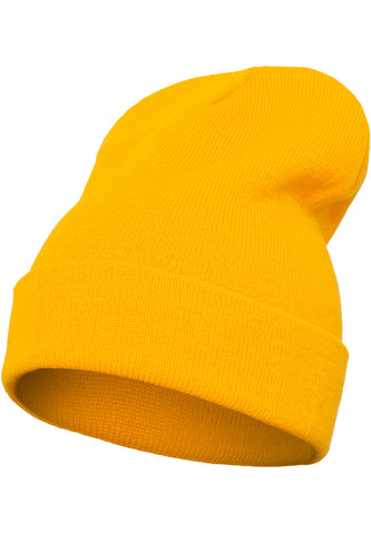 Flexfit Heavyweight Long Beanie 1501KC Gold